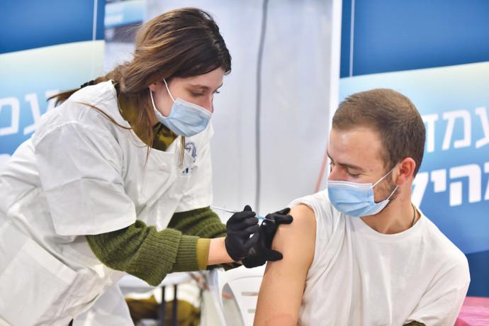 """מבצע החיסונים בצה""""ל"""