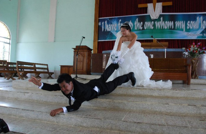 חתונה שהשתבשה, אילוסטרציה