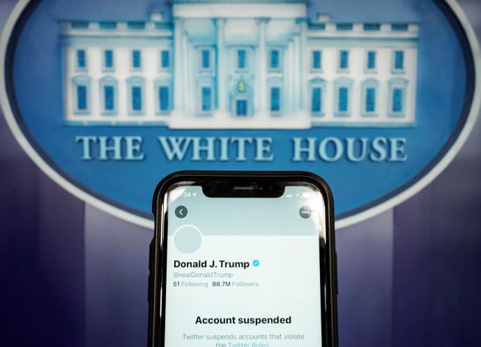 חשבון הטוויטר המושעה של טראמפ