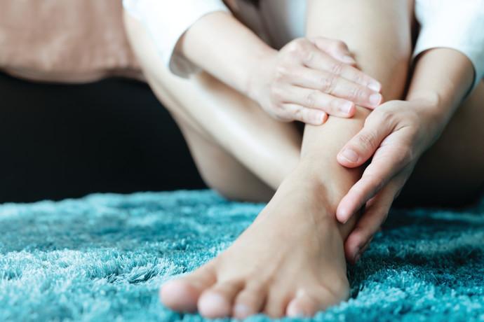 כאבים ברגל, אילוסטרציה