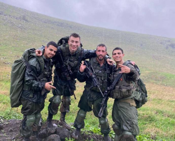 חיילי מסייעת גדוד 71