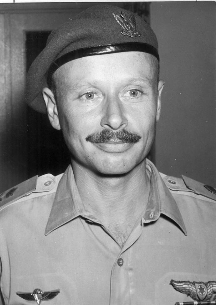 דן טולקובסקי כמפקד חיל האוויר