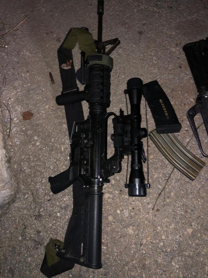 מעצר פלסטיני אשר ברכבו נשק רב