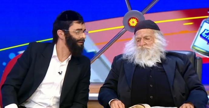 """הדמות של הרב קנייבסקי ב""""ארץ נהדרת"""""""