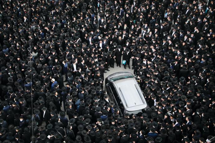 הלוויה חרדית בירושלים בזמן הסגר