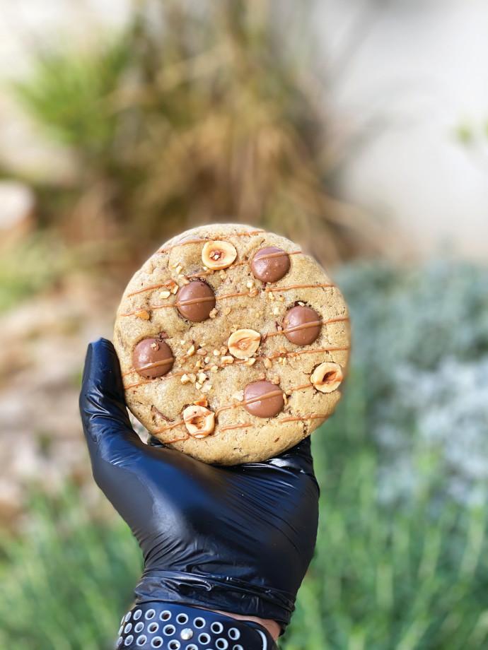 עוגיות פרלינה לוז ושוקולד חלב
