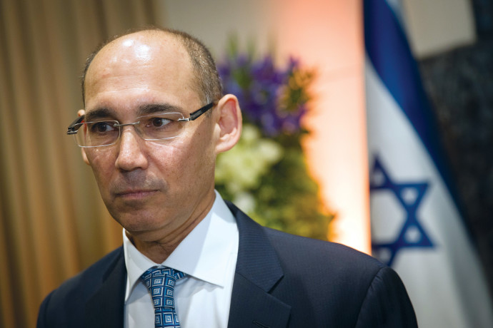 פרופסור אמיר ירון, נגיד בנק ישראל