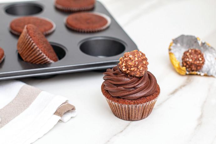 קאפקייק שוקולד