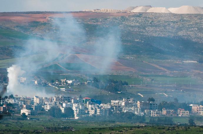 תקיפה ישראלית בדרום לבנון