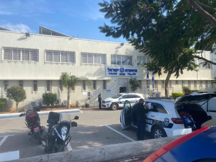 תחנת המשטרה בחדרה
