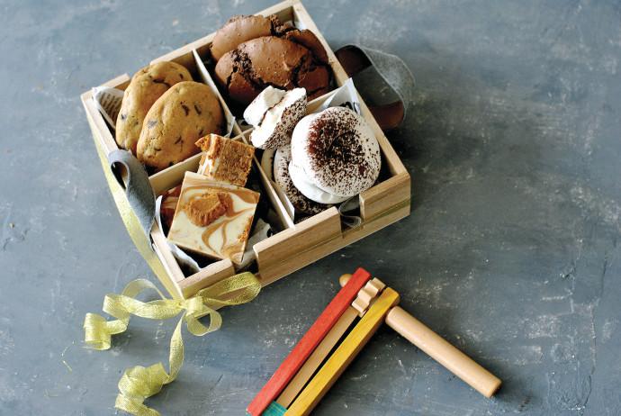 משלוח מנות של עוגיות ביתיות