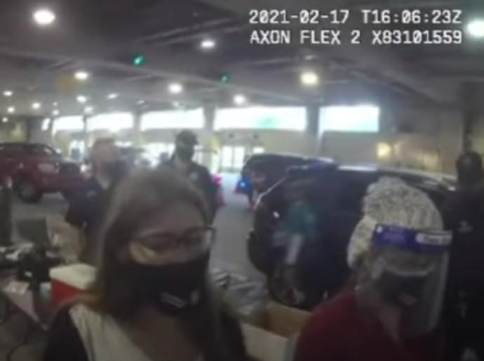 שתי הנשים במצלמות האבטחה