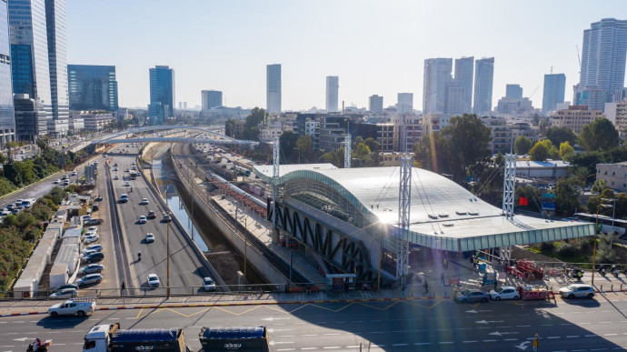 תחנת הרכבת תל אביב - השלום