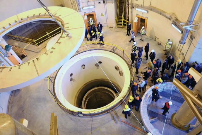 הכור הגרעיני באראק (איראן)