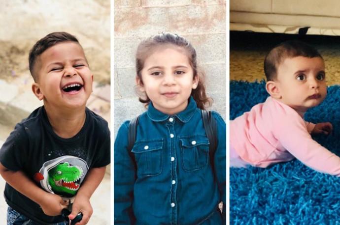 אבראר, חאלד ולילא אבו סבית שנספו בשריפה בחורה