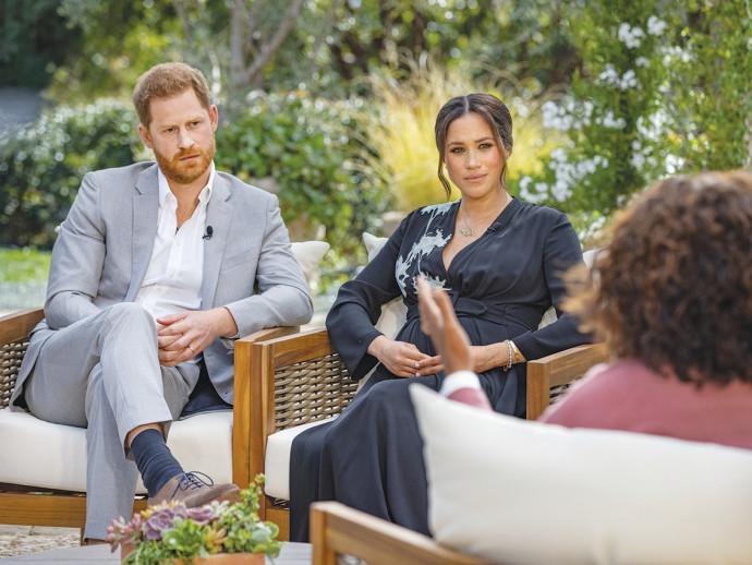 הזוג המלכותי בריאיון שעורר את זעם בית המלוכה