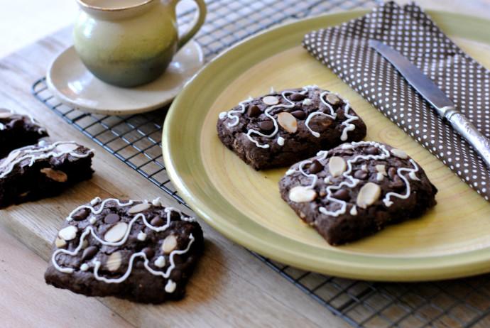 סקונס שוקולד
