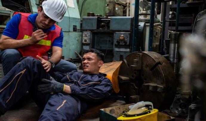 נפגע בתאונת עבודה