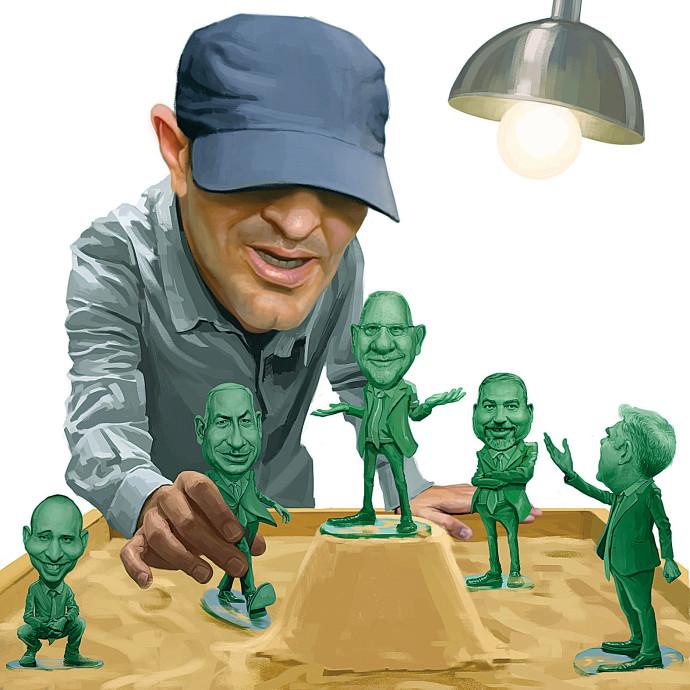 פוליטיקאיי ישראל כחיילי צעצוע