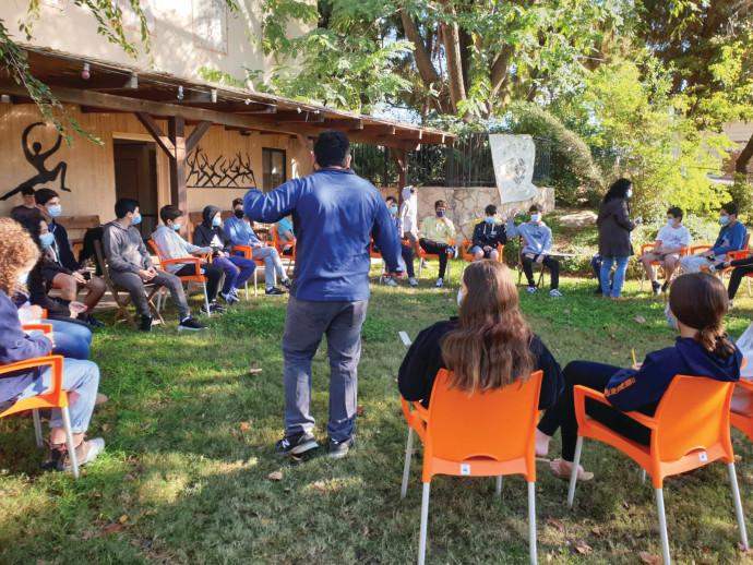מיזם מרכזי הלמידה שנפתחו בקורונה, בהתנדבות מלאה