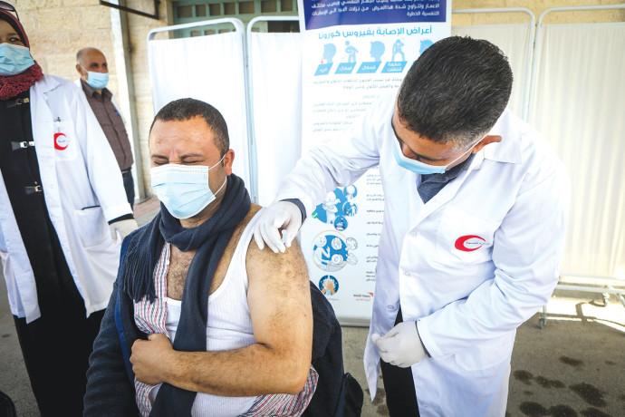 חיסון פלסטינים