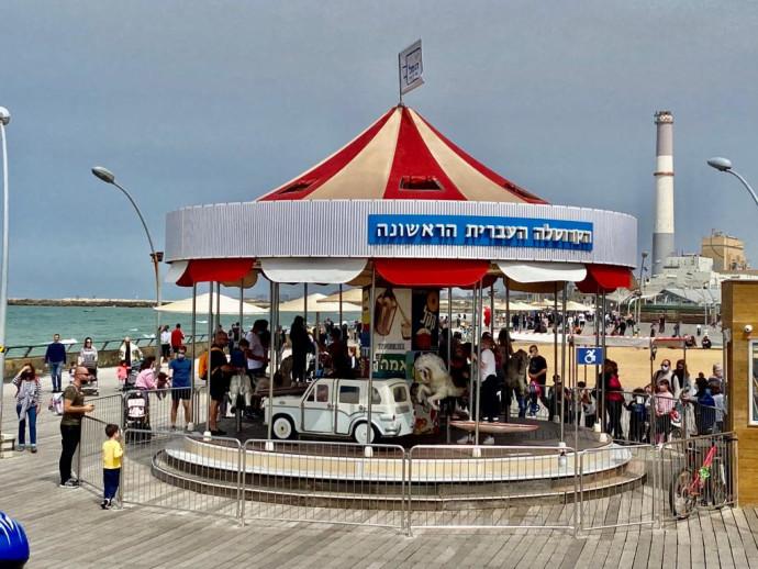 שבת שמשית בתל אביב