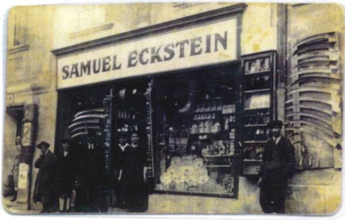 החנות של שמואל אקשטיין בברטיסלביה