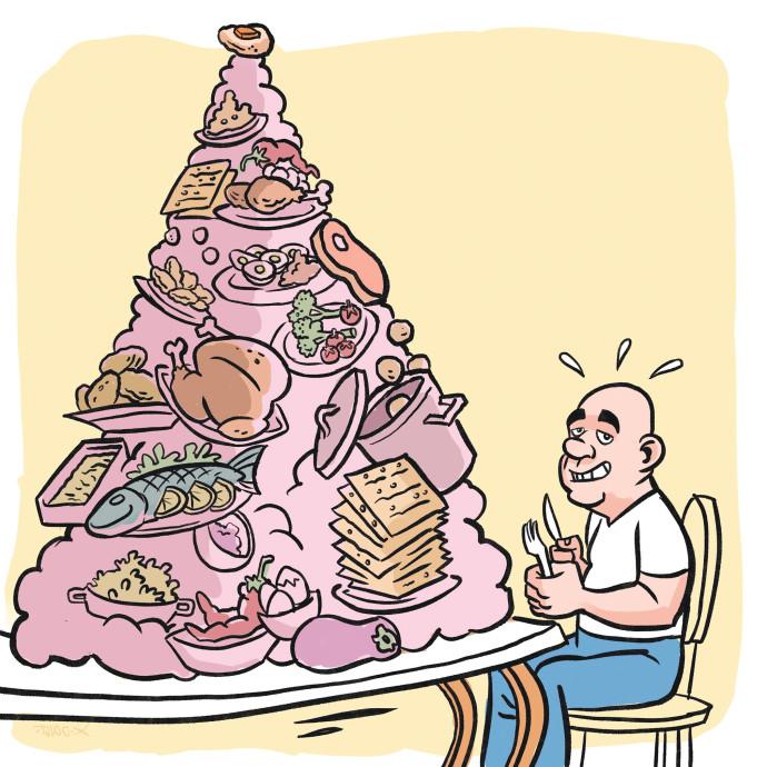 ורק הרבנית בבועה משלה, עם תוספת הלימון לדג המרוקאי