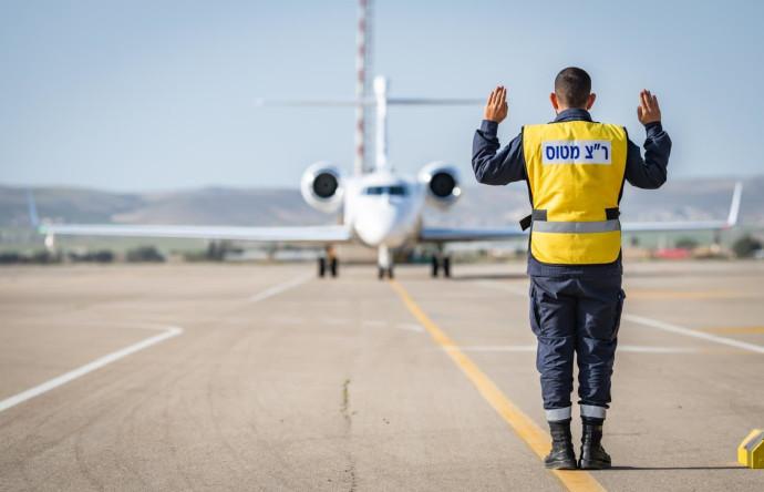 """טקס קליטת מטוס """"אורון"""" בחיל האוויר"""