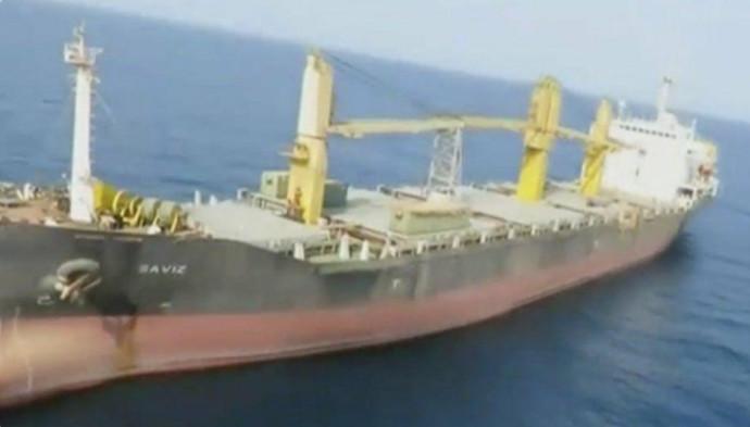 הספינה Saviz