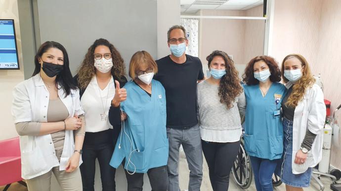 """הצוות הרפואי והסיעודי של קופ""""ח מכבי בראשון לציון"""
