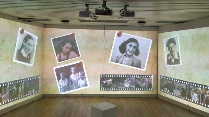 החדר האימרסיבי להנצחת זכרון השואה