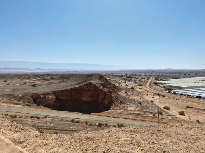 הנוף ממצפור ג'בל חופריה