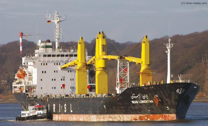 הספינה האיראנית SAVIZ