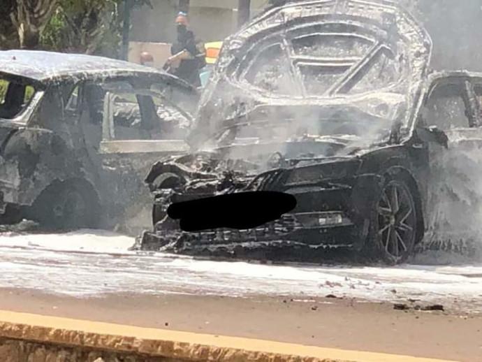 פיצוץ רכב בנתניה