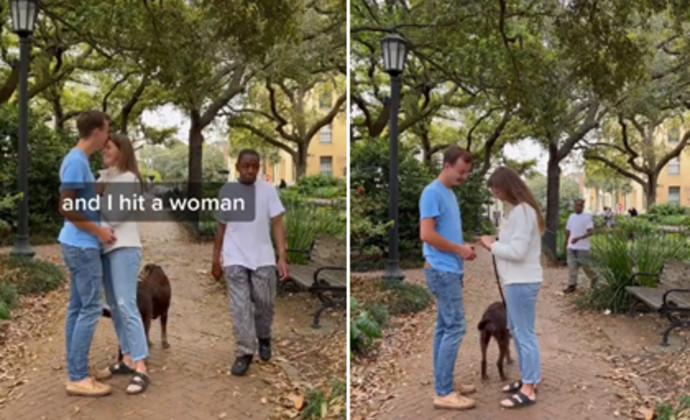 הצעת הנישואין בפארק