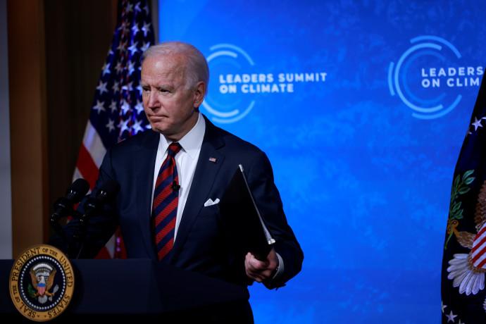 ביידן בנאומו בוועידת האקלים