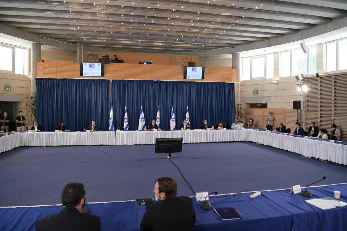 ישיבת קבינט הקורונה, יוני 2020