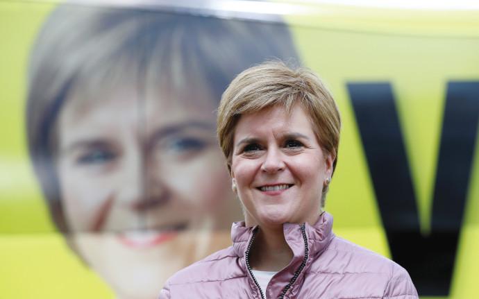 ראש ממשלת סקוטלנד ניקולה סטרג'ין