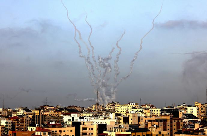 שיגור רקטות מרצועת עזה לשטח ישראל