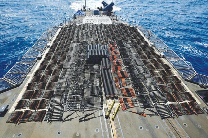 ספינת משלוחים איראנית
