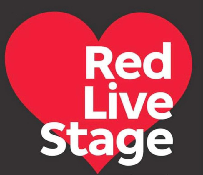 red live stage