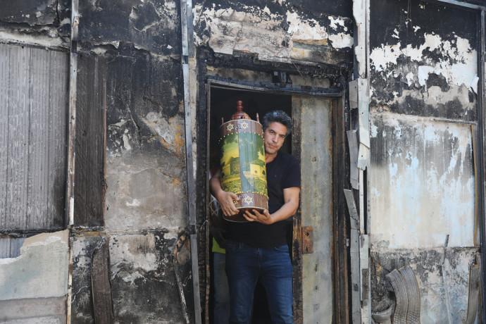 בית כנסת שרוף בלוד
