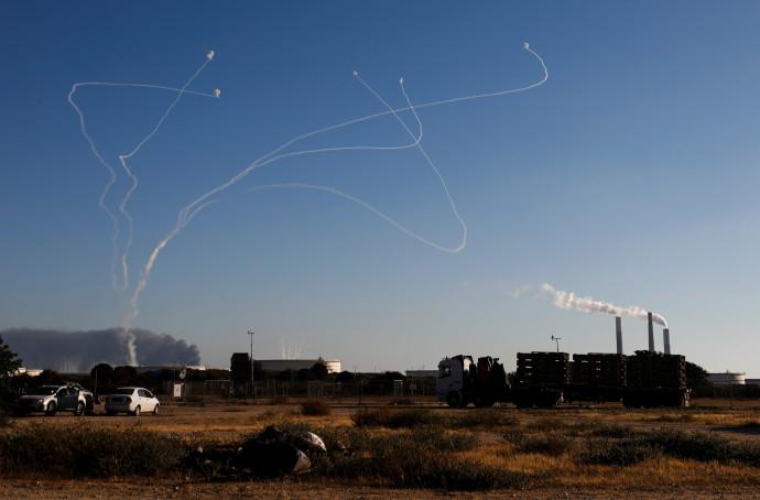Tirs de roquettes depuis Gaza