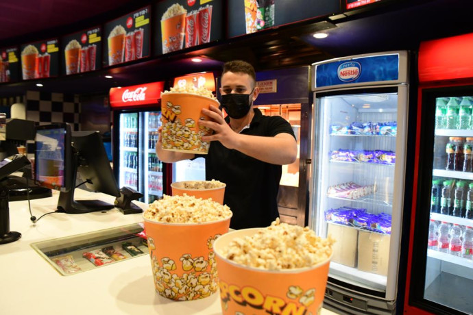 הכנות לפתיחת בתי הקולנוע, סינימה סיטי גלילות
