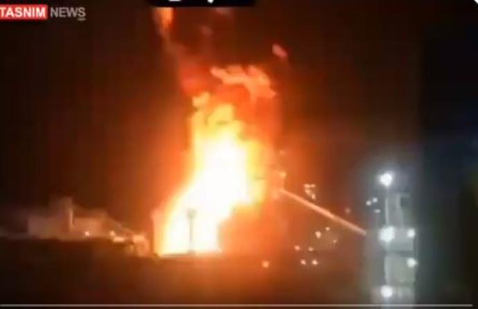 פיצוץ המפעל באיראן