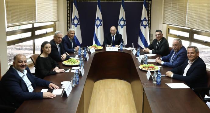 פגישת ראשי סיעות הקואליציה