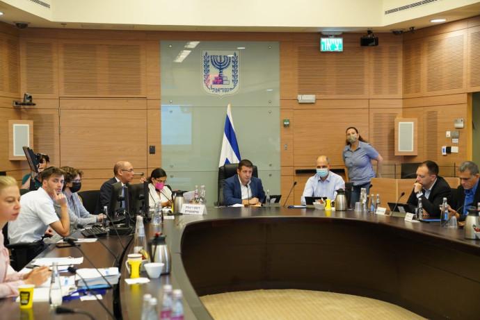 נגיד בנק ישראל פרופ' אמיר ירון בוועדת הכלכלה