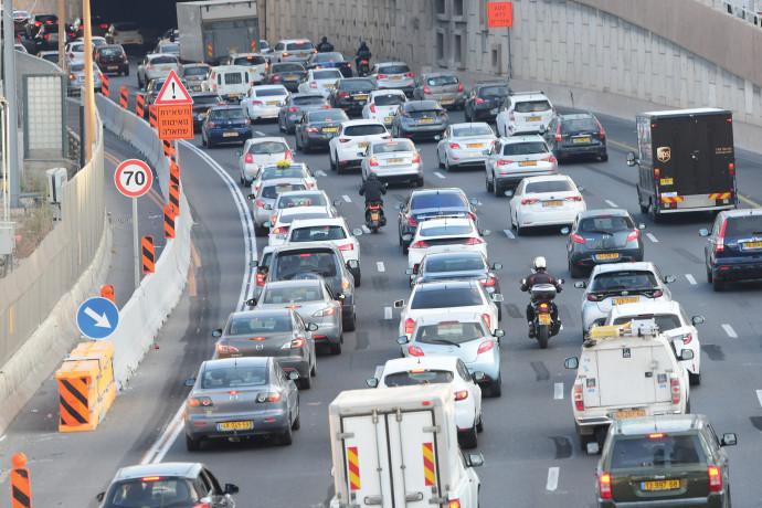 פקקים בכבישי ישראל