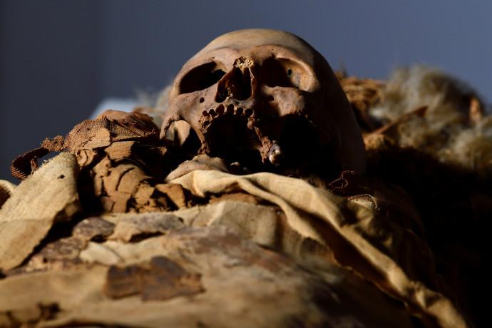 המומיה של הכומר המצרי הקדום